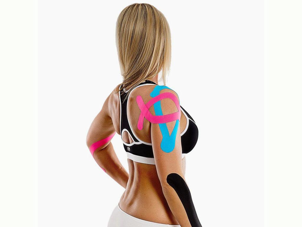 С помощью спортивного тейпирования удается вылечить различные травмы.