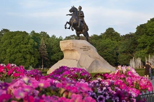 Петербург отмечает 318-летие. День города в Петербурге